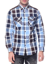 Parish - Plaid L/S Button-Down