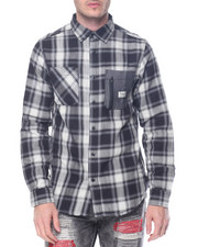 Shirts - Plaid L/S Button-Down