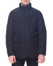 Heavy Coats - S J Heavy Quilted Jacket