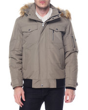 Heavy Coats - S J Signature Snorkel Coat W/ Faux - Fur - Lined Hood