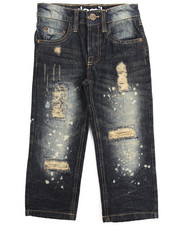 Boys - SPLATTER JEANS (4-7)