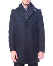 Sean John - Quilt - Lined Wool Peacoat