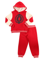 Boys - 2 PC VARSITY FLEECE SET (4-7)
