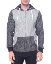 Buyers Picks - Zipup Contrast Hoodie w side zip detail