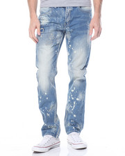 Parish - Bleach Splatter Denim Jean