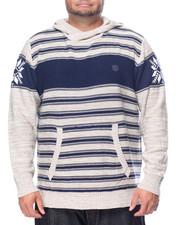 Men - L/S Stripe Hoody (B&T)