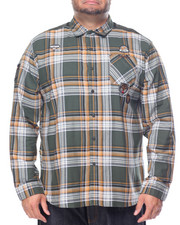 Shirts - Whiskey L/S Button-down (B&T)