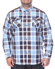 Shirts - Plaid L/S Button-Down (B&T)