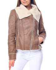Outerwear - Faux Shearling Jacket
