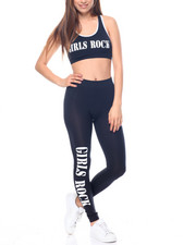 Women - Girls Rock Top W/Leggings