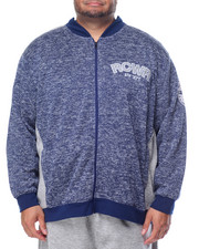 Light Jackets - Ath-Dept. Marled Fleece Jacket