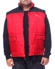 Outerwear - Quilted Bubble Vest (B&T)