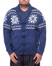 Cardigans - Snowflake Sweater (B&T)