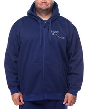Rocawear - Split Second Mini Stripe Fleece Zip Hoodie (B&T)