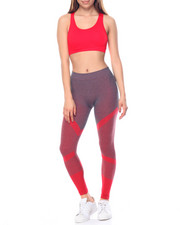 Women - Fire Printed Tank W/Ankle length Legging Set