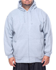 Hoodies - Basic Zip - Up Fleece Hoodie (B&T)