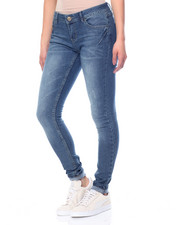 Basic Essentials - Rachel Skinny Tinted Wash Jean