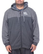 Rocawear - Rebellion Marled Zip Fleece Hoodie (B&T)