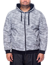 Hoodies - All Over Fly Knit full zip hoody (B&T)