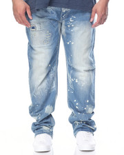 Men - Bleach Splatter Denim Jean (B&T)