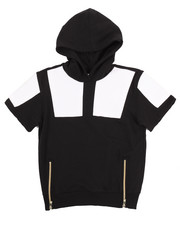 Boys - S/S CUT & SEW FRENCH TERRY HOODY (8-20)