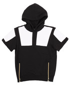 S/S CUT & SEW FRENCH TERRY HOODY (8-20)