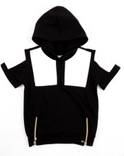 Boys - S/S CUT & SEW FRENCH TERRY HOODY (4-7)