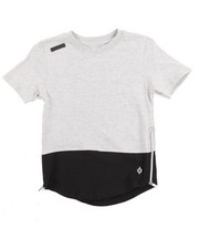 Boys - ELONGATED COLOR BLOCK TEE (8-20)