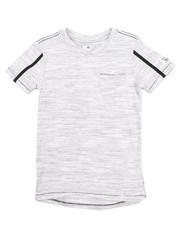 Boys - ELONGATED MARLED TEE  (8-20)