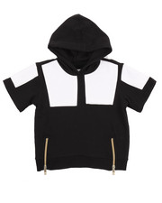 Akademiks - S/S CUT & SEW FRENCH TERRY HOODY (2T-4T)