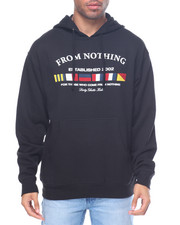 Men - Nautical Fleece Pullover Hoodie