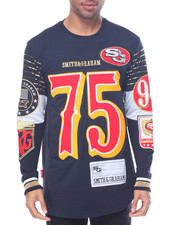 Pullover Sweatshirts - S & G '75' Jersey - Style Crewneck