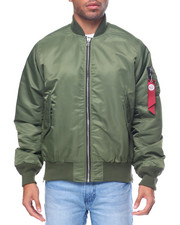 Light Jackets - M A 1 - Style Side - Zip Bomber Jacket