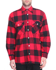 Shirts - Rothco Extra Heavyweight Buffalo Plaid Flannel Shirts