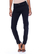 Fashion Lab - Zip Leg Destructed Stretch Skinny Jean