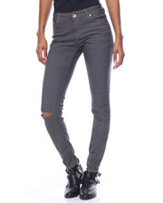 Fashion Lab - Slit Knee Hyperstretch Twill Skinny Jean