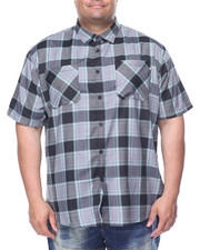 Men - Hudson S/S Button-Down (B&T)