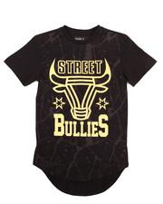 Boys - SCALLOP HEM FOIL STREET BULLIES TEE (8-20)