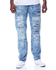 Men - Acid Wash Rocker Jean