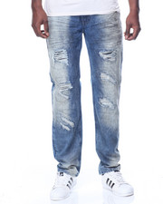Men - Cloud Wash Rip Jean