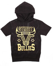 Sizes 8-20 - Big Kids - FOIL STREET BULLIES S/S HOODY (8-20)
