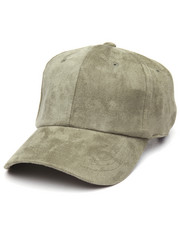 Men - Plain Suede Dad Cap