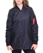 Women - Long Flight Jacket