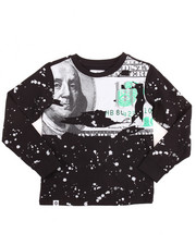Sizes 8-20 - Big Kids - L/S BENJAMINS TEE (8-20)