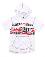 Boys - OFF THE RIP S/S FRENCH TERRY HOODY (8-20)