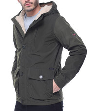 Light Jackets - Ben Sherman Hooded Midweight Jacket
