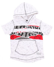 Boys - OFF THE RIP S/S FRENCH TERRY HOODY (2T-4T)
