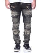 3D Knee Detail Moto Jean