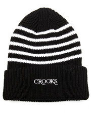Crooks & Castles - Serif Strip Beanie
