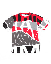 Boys - OFF THE RIP ALL OVER PRINT TEE (4-7)